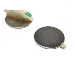 Neodymium magnet with adhesive tape